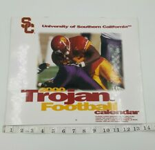 2000 University Southern California USC Trojan Football 16 Month + Game Calendar