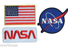 NASA espace Agence Logo Déguisement Repasser Patch À Coudre Ensemble -01