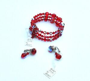 Vintage Hobe Bracelet and Earrings