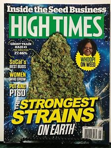 High Times Strongest Strains Whoopi On Weed Best Buds June 2015 FREE SHIPPING JB
