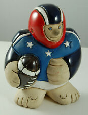 Launa Pottery American Football Player