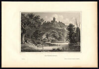 Antique Print-WESTPHALIA-RAVENSBERG CASTLE-VIEW-GERMANY-Schucking-Mayer-1872