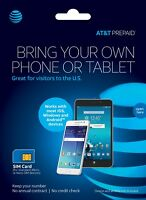 AT&T Prepaid LTE Unlimited Plans (30 days Service)  NO CONTRACT