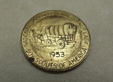 TWO-1953 Boy Scouts 3rd National Jamboree, Irvine Ranch CA Medal / Token / Coin