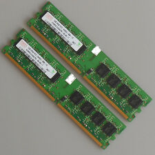 Hynix 2GB (2X1GB) DDR2-800 800mhz PC2-6400 DIMM Desktop Memory Low Density RAM