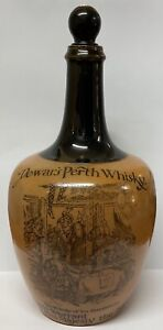 Vintage/Antique Rare Royal Doulton Lambeth Dewards Perth Whisky Jug