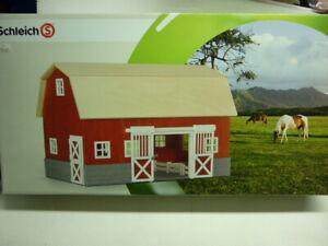Schleich 42028 Farm Life Stalla -Fienile in legno in kit di montaggio