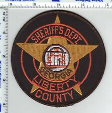 Liberty County Sheriff's Dept. (Georgia) Shoulder Patch - from the 1980's