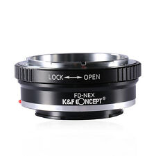 K&F Concept Adapter for Canon FD Lens to Sony NEX E Mount A7 A7R A7S Camera Body