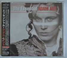 Adam Ant / The Ants The Essential Japanese import with OBI still sealed