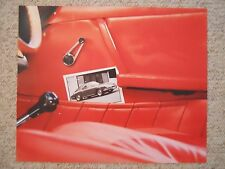 Early Porsche 911 Coupe Showroom Advertising Poster RARE!! Awesome L@@K