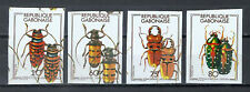 JV1) Gabon MNH Insects Bugs Beetles - Error Double Impression - Imperf Proof