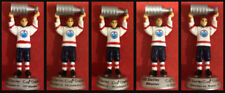 Set of 5 Mini Edmonton Oilers Stanley Cup Champ Figures 1984 1985 1987 1988 1990