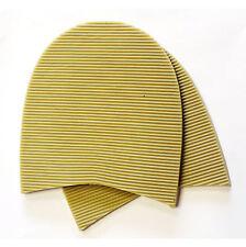 Men's Natural Soltrack Stick-on HEELS Shoe Repair Kit Size 77mm