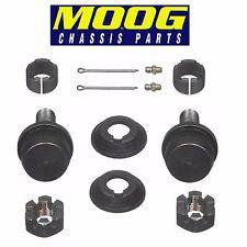 For Chevrolet K20 Pair Set of 2 Front Upper Pressin Type Ball Joints Moog K8194T