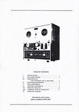 Service Manual-Anleitung für Akai X-201 D