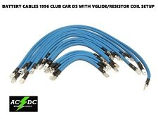 # 2 Awg HD Golf Cart Battery Cable BLUE 18 Pc Kit 96 CLUB CAR DS