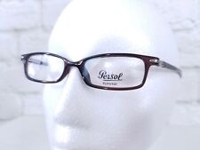 PERSOL BROWN BLACK OPTICAL GLASSES P3471 46 18 135  C2 Made in Italy