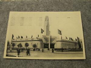 1935 fr postcard - Pavilion de la Ville De Bruxelles - Exhibition