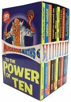 Murderous Maths 10 Books Collection Box Set Poskitt Kjartan NEW Horrible Series