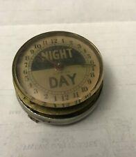 19th Century National Brass Cash Register DAY/NIGHT CLOCK