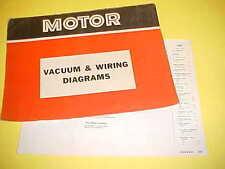 1967 1968 1969 MERCURY COUGAR XR-7 ELIMINATOR CONVERTIBLE VACUUM+WIRING DIAGRAMS