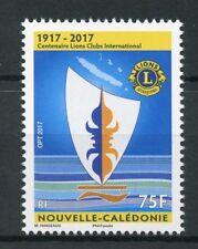 New Caledonia 2017 MNH Lions Club International 100th Anniv 1v Set Stamps