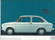 Fiat 850 Special 1964 Brochure Spanish Language Text Excellent condition 2648