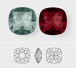 10mm   Square Cushion Cut   Swarovski Article 4470   3 Pieces - Choose Color