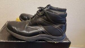 Footjoy Men's Black Leather Golf Shoes Size UK 8