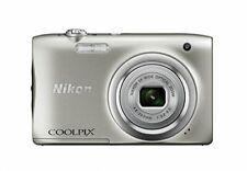 Nikon digital camera COOLPIX A100 optical five times 2005 million pixels silver