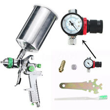 600CC HVLP 1.4mm Gravity Feed Spray Tool Metal Flake Regulator Auto Paint Primer