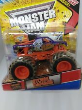 2012 Hot Wheels Monster Jam Storm Damage tops card included