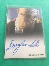 Star Trek Movies Into Darkness Douglas Tait  Long Face Bar Alien Signed Autogra