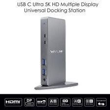 Wavlink USB 3.0 USB C Ultra HD/5K Universal Docking Station Dual4K Video Display