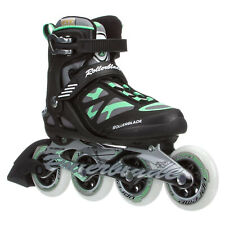 Rollerblade USA Macroblade 90 Women's Adult Inline Skates Size 7, Green (Used)