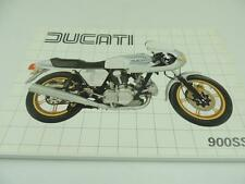 Vintage Ducati 900 SS Super Sport Moped Dealer Brochure and Specifications L2704