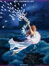 The Stardancer; Fantasy Un-MATTED Print
