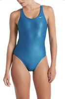 NWT Nike Womens Bonded Cut-out One Piece Swimsuit Size 30 / WMS 4  NESS9058-448