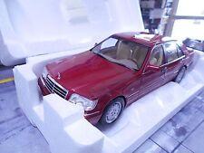 MERCEDES BENZ W140 S-Klasse S500 500 S red rot met HQ 1997 Norev NEU 1:18