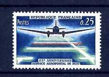 FRANCIA  - 1964 - 25 anni di posta aerea durante la notte. E5345