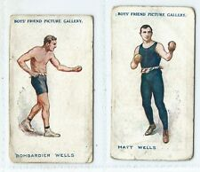 More details for trade-cards - boys friend - famous boxers series - 2/3