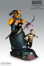 X-Men VS Sentinel No. 3 Diorama Wolverine Kitty #317/1000 Sideshow Collectibles