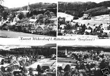 AK, Kurort Wehrsdorf, Mittellausitzer Bergland, vier Teilansichten, 1964