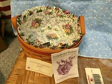 Longaberger Basket - 1995 Mother's Day Basket Combo - Display only