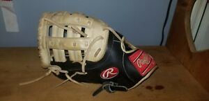 """Rawlings 12.5"""" Heart of the Hide First Base Baseball Glove LHT - Pre Owned"""
