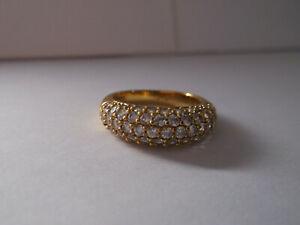 Genuine SWAROVSKI Crystal MAEVA Ring GP - size 55