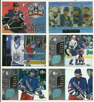 1998 98-99 UD UPPER-DECK YEAR OF THE GREAT ONE RANGERS WAYNE GRETZKY #GO20