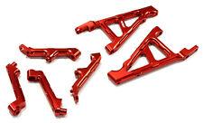 BAJ345RED Integy Billet T3 Front & Rear Shock Support for HPI Baja 5B, 5T & 5SC