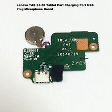 """Genuine Lenovo IdeaPad s8-50 8"""" Wi-Fi Micro USB porta di ricarica bordo FLEX t8la_usb"""